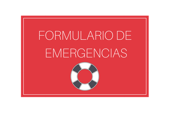 formulario emergencias